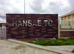 Thi công trần thạch cao nhà xưởng HANSEA TG