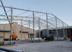Xây Dựng Nhà Xưởng Mở Rộng 30x54m– Công Ty Cổ Phần Bảo Sơn Xanh
